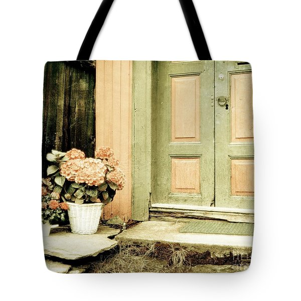 Pastel Colored Doorstep Tote Bag