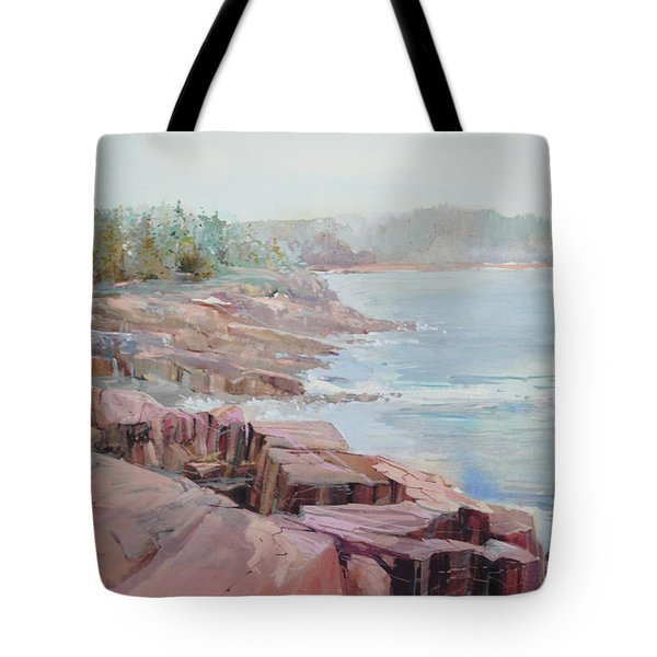 Pastel Cove Tote Bag