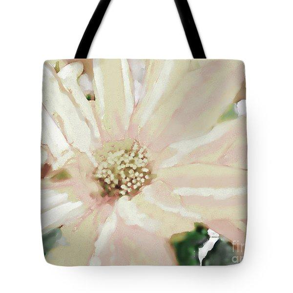 Pastel Daisy Photoart Tote Bag