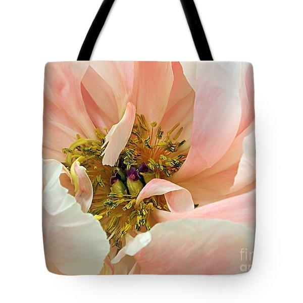 Pastel Floral Tote Bag by Kaye Menner