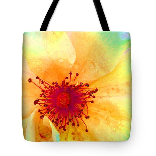 Pastel Garden Tote Bag by Charlotte Schafer