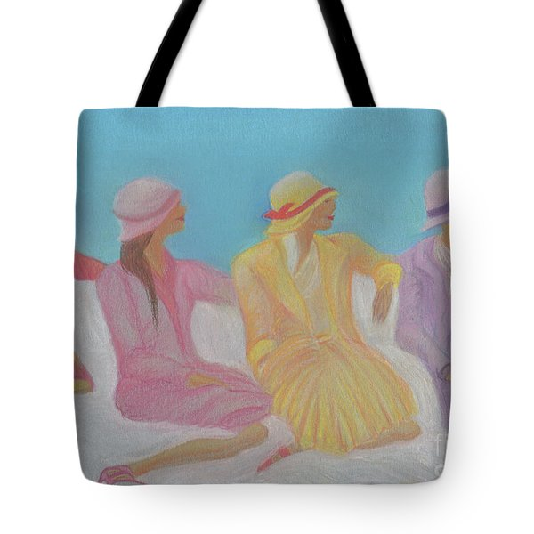 Pastel Hats By Jrr Tote Bag by First Star Art