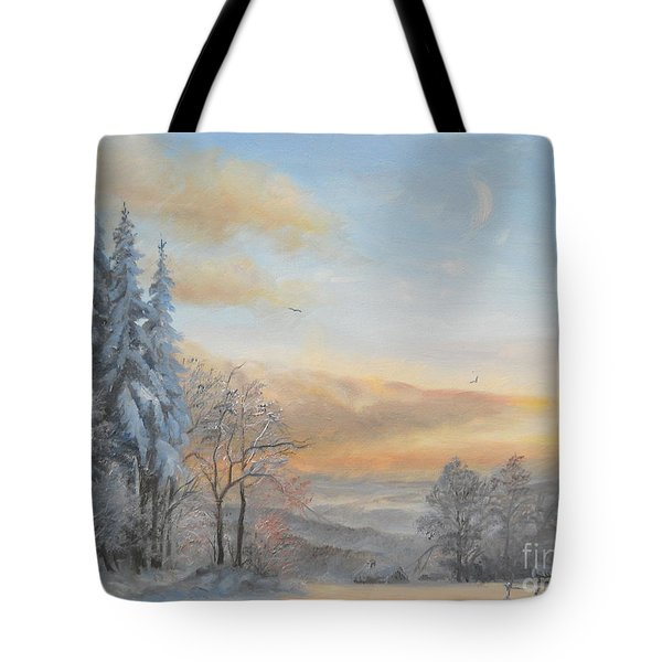 Tote Bag featuring the painting Pastel by Sorin Apostolescu