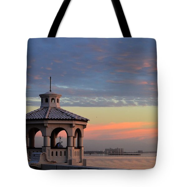 Pastel Sky Tote Bag by Leticia Latocki
