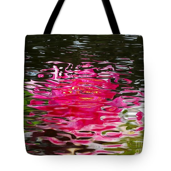 Pastel Water Ripples Tote Bag by Margaret Newcomb
