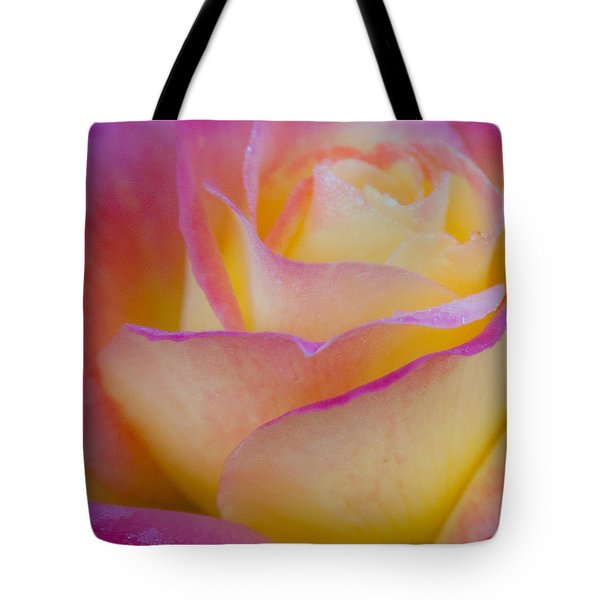 Tote Bag featuring the photograph Pastels by David Millenheft