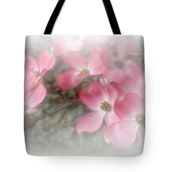 Pastels In Pink Tote Bag