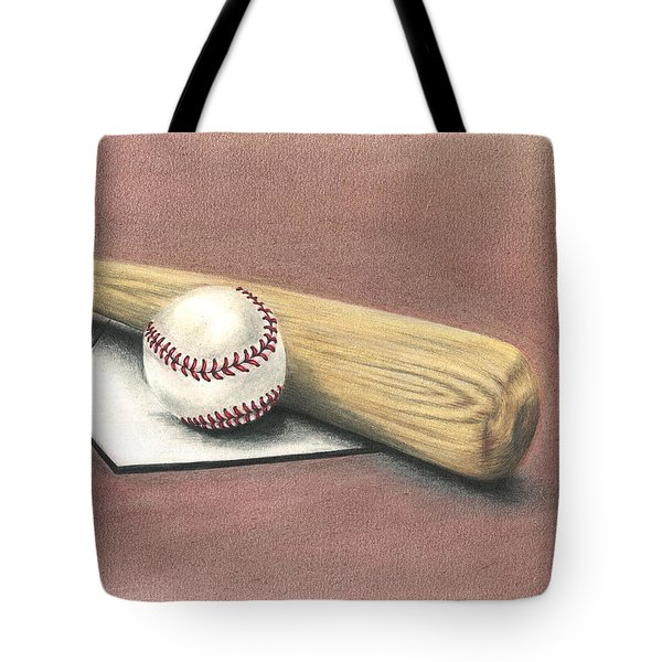 Pastime Tote Bag by Troy Levesque