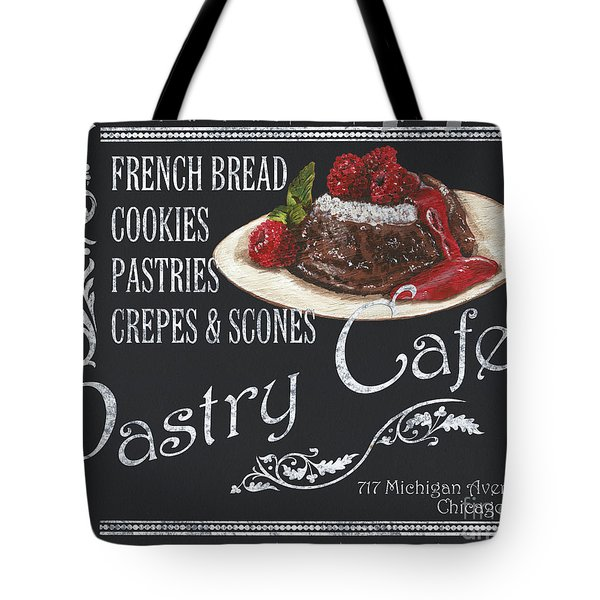 Pastry Cafe Tote Bag