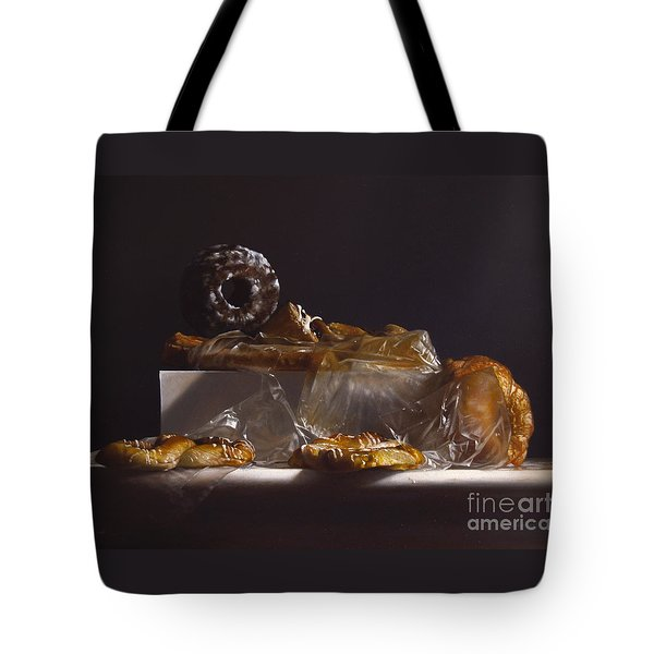 Pastry Tote Bag by Larry Preston