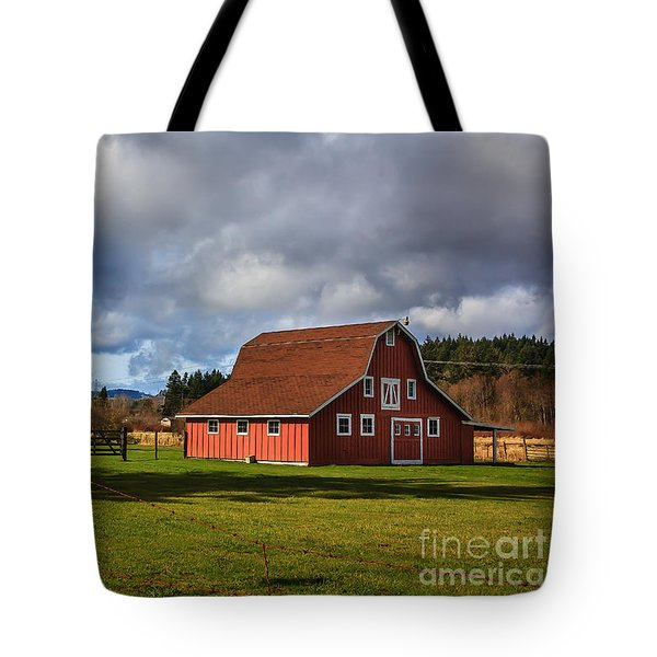Tote Bag featuring the photograph Pasture For Rent by Jean OKeeffe Macro Abundance Art