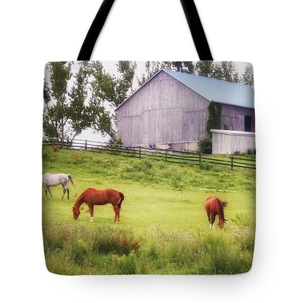 Tote Bag featuring the photograph Pasture by Garvin Hunter