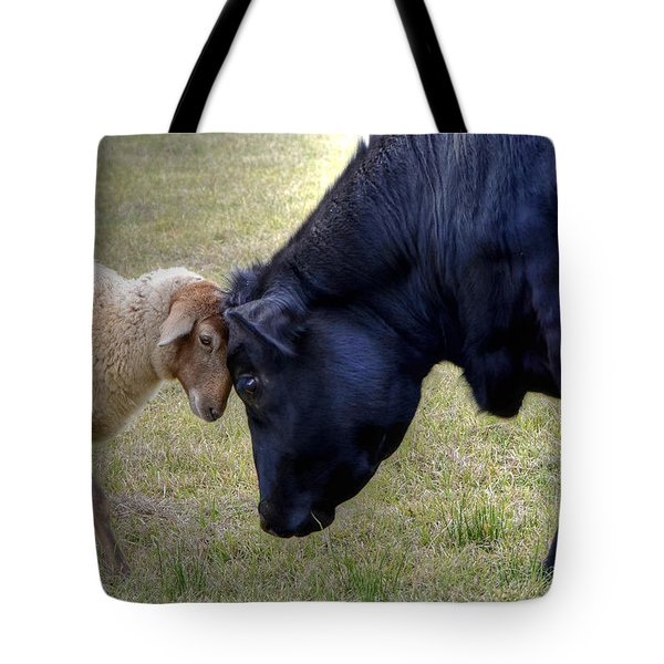 Pasture Pals Tote Bag by Charlotte Schafer