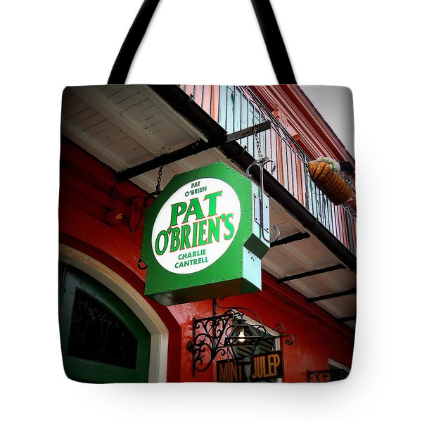 Pat O's Tote Bag by Beth Vincent