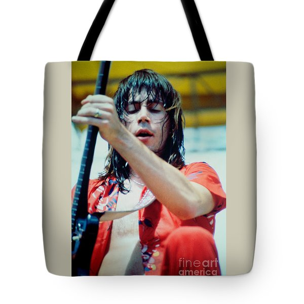 Pat Travers At Spartan Stadium In San Jose Ca 8-19-79 Tote Bag