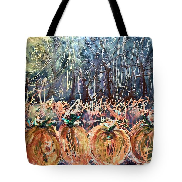 Patch Of Midnight Tote Bag
