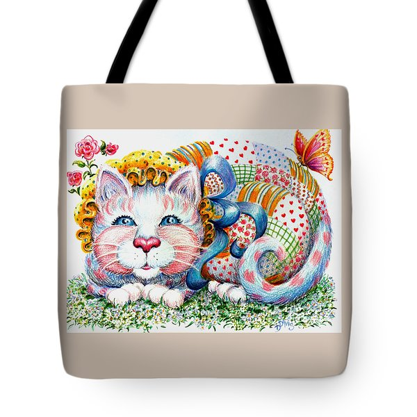 Patchwork Patty Catty Tote Bag