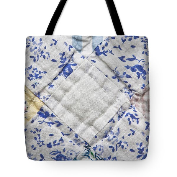 Patchwork Quilt Tote Bag by Tom Gowanlock