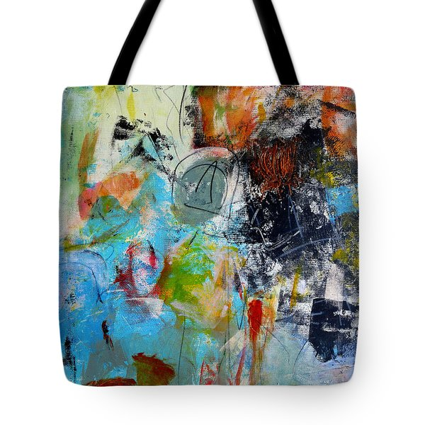 Tote Bag featuring the painting Patent by Katie Black