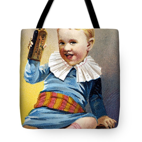 Patent Medicine, 19th C Tote Bag by Granger