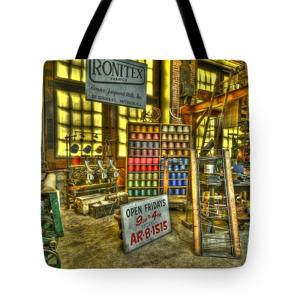 Paterson Silk Mill Tote Bag