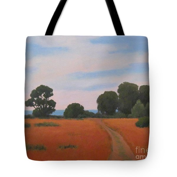 Path At Carpinteria Bluffs Tote Bag