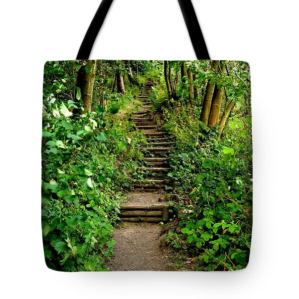 Path Into The Forest Tote Bag