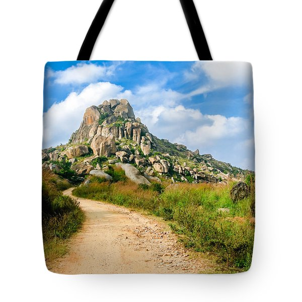 Path Into The Hills Tote Bag