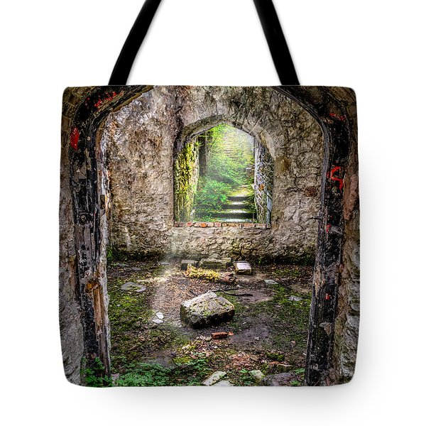 Tote Bag featuring the photograph Path Less Travelled by Adrian Evans