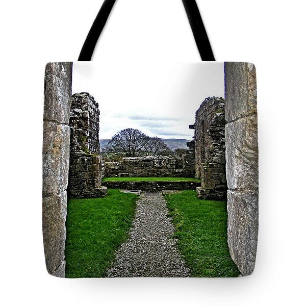 Path Tote Bag by Nina Ficur Feenan