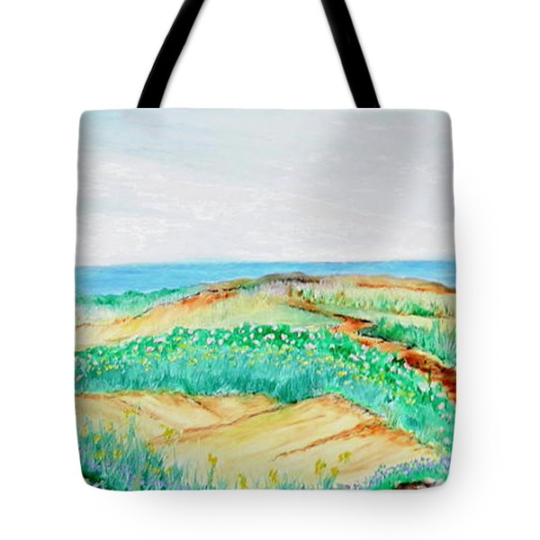 Path Of Blossom Tote Bag