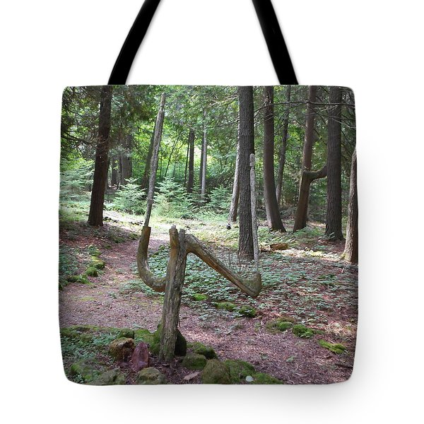 Path Of Choice Tote Bag