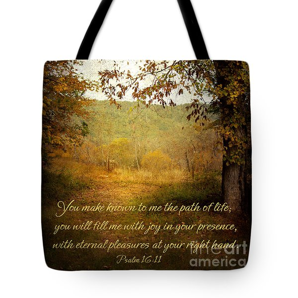 Path Of Life Tote Bag