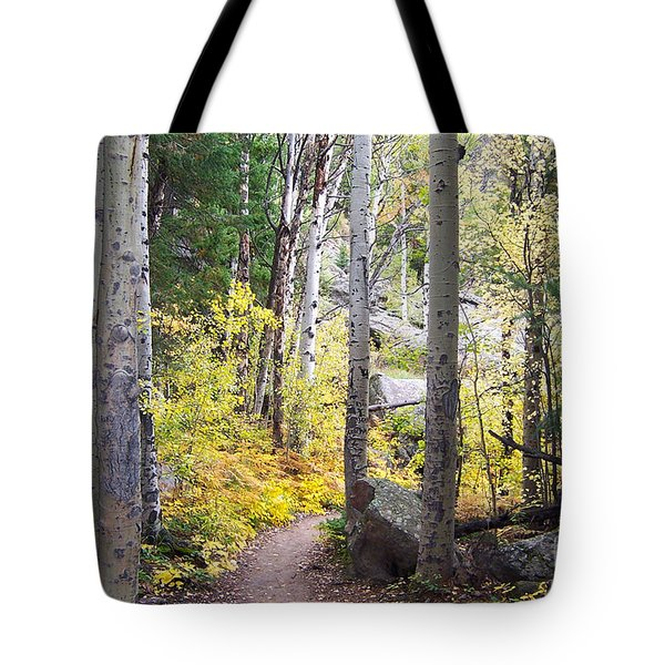Tote Bag featuring the digital art Path Of Peace by Margie Chapman