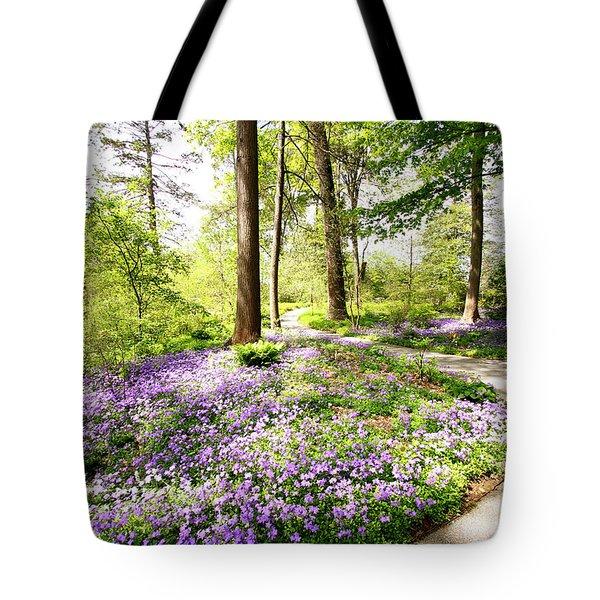 Path Of Serenity Tote Bag