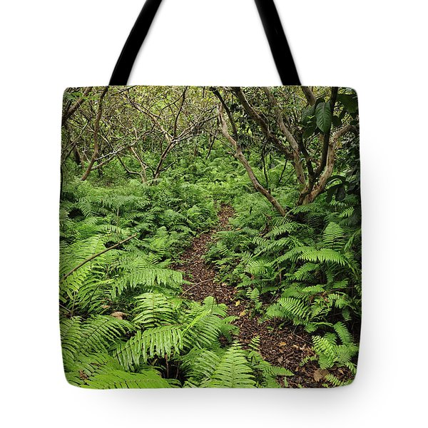 Path Through Jozani Np Zanzibar Tanzania Tote Bag
