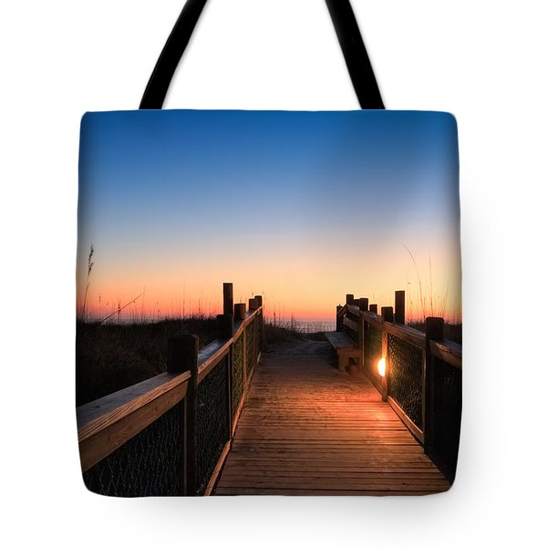 Path To A New Day Tote Bag