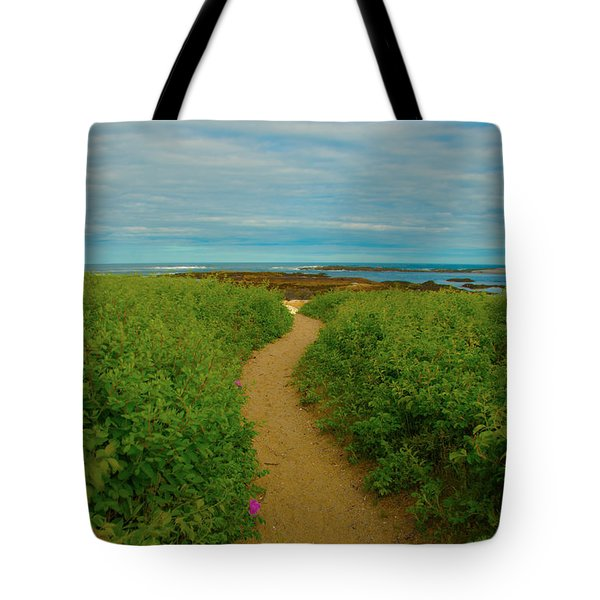 Path To Blue Tote Bag