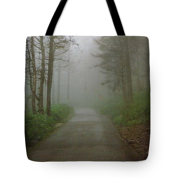 Path To Clingmans Dome Tote Bag