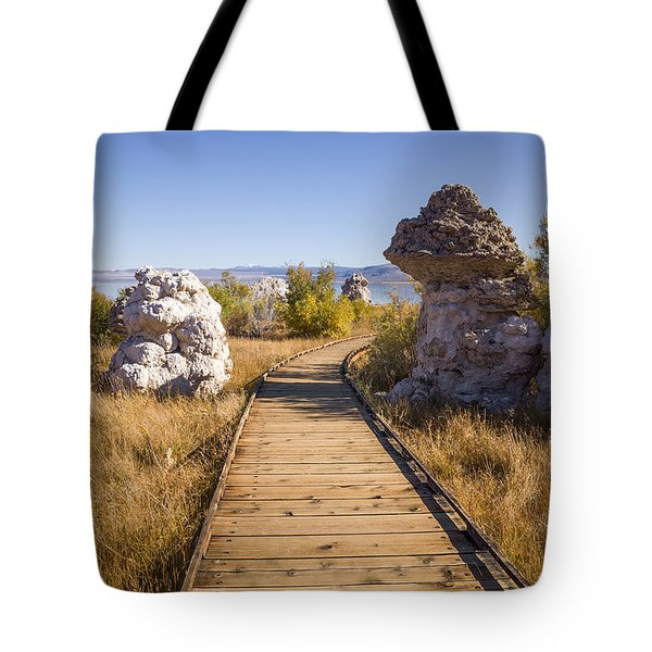 Path To Mono Lake Tote Bag