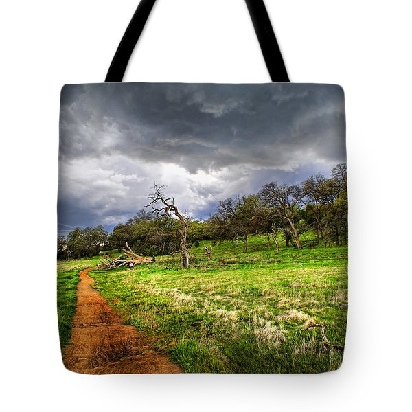 Path To The Clouds Tote Bag