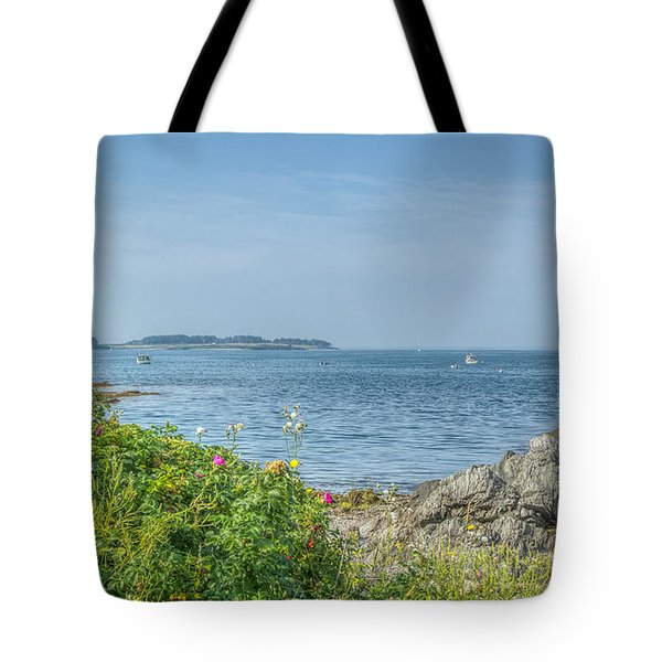 Tote Bag featuring the photograph Path To The Cove by Jane Luxton