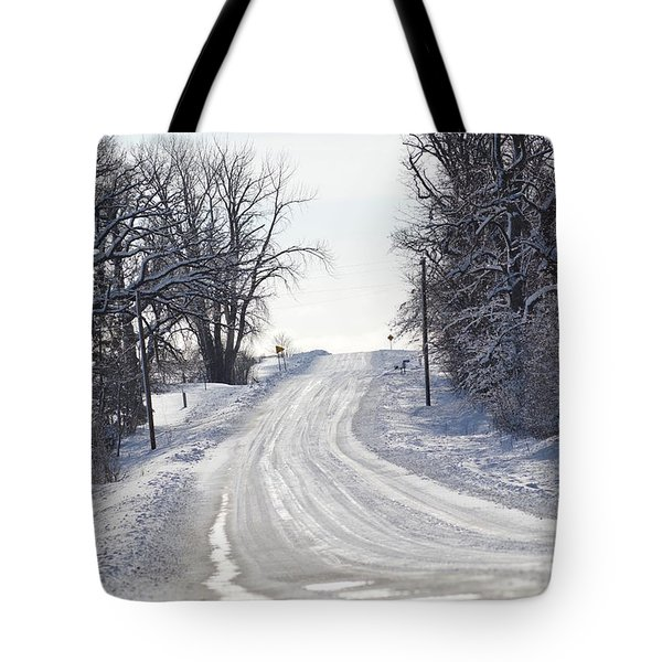 Tote Bag featuring the photograph Path To The Unknown by Dacia Doroff