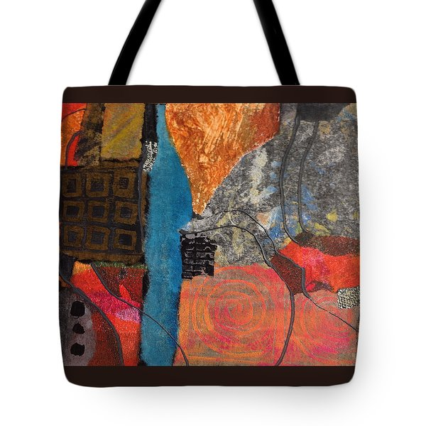 Paths Tote Bag by Catherine Redmayne