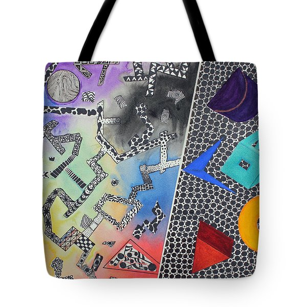 Pathway Tote Bag by Shannan Peters