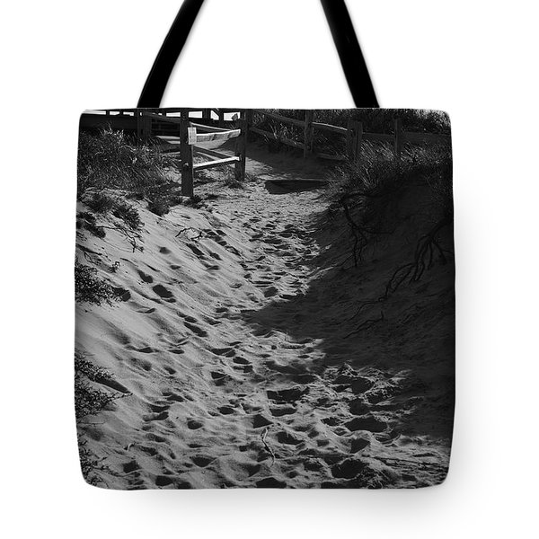 Pathway Through The Dunes Tote Bag