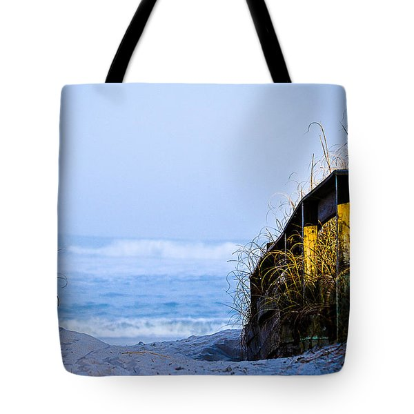 Pathway To Happiness Tote Bag by Mary Ward