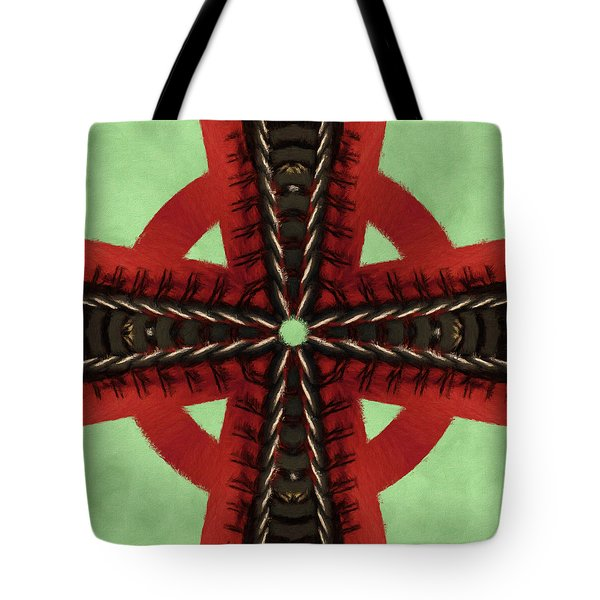 Pathway To Knowledge Tote Bag by Jeff Kolker