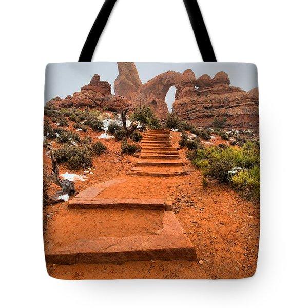 Pathway To Portals Tote Bag