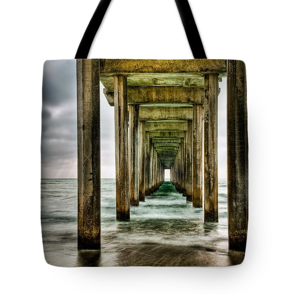 Pathway To The Light Tote Bag by Aron Kearney